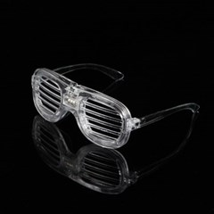 LED 야광 쉐이드 안경 /파티 이벤트 불빛안경