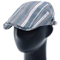 [플릭앤플록]IMH10.멀티 스트라이프 헌팅캡 남성 모자
