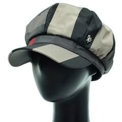 [플릭앤플록]ICN01.클래식 체크 여성 빵모자 뉴스보이캡