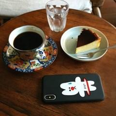 [duboo] 다이어트 블랙 실리콘케이스