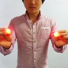 이동하는불빛(빨강색-살색덤팁-1쌍)일반형