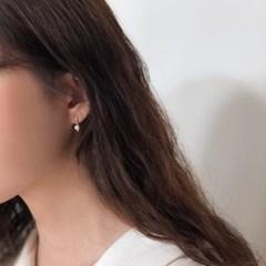 [925실버] Natural pearl earring
