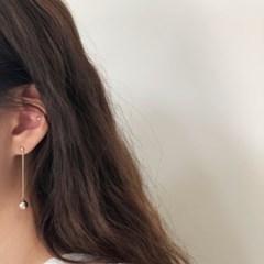 [92.5 silver] Mobile earring