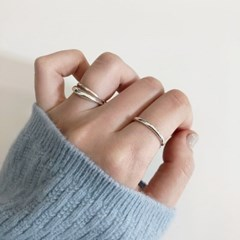 [92.5 silver] Almond ring - Silver