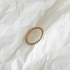 [92.5 silver & 14k gold plated] Birthmark ring