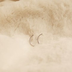 하프써클 귀걸이