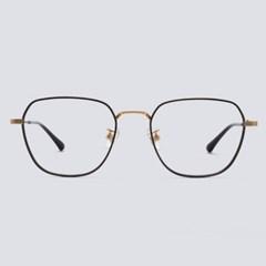 MARK gold-black 안경테 알큰 둥근 둥근얼굴형_(1970036)