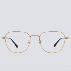 MARK gold 안경테 통 무도수 디자인 투브릿지 수제_(1970033)