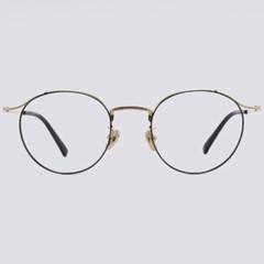 CORA gold-black 안경테 베타 티타늄 은테 큰_(1970028)
