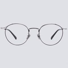 CORA silver-black 안경테 돋보기 울템 렌즈_(1970027)