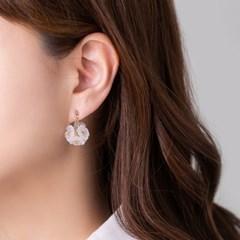 꽃다발 귀걸이