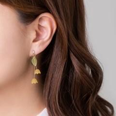 튤립 드롭 귀걸이