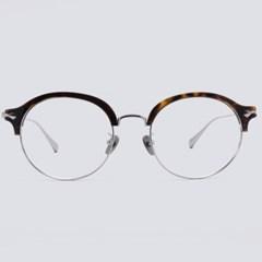 DON silver-havana 안경테 무테 뿔테 동그리_(1970020)