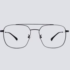 MEG silver-black 안경테 비구면 색 다리 통_(1970012)