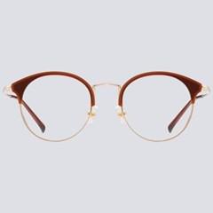 JUN brown 안경테 고도근시 초경량 가게 여자 좋은_(1969929)