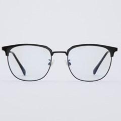 CLARK black 안경테 하금 긴얼굴 레트로 교체 알_(1969914)