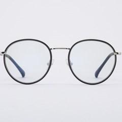 ORAN silver-black 안경테 코받침 가벼운 거_(1969910)