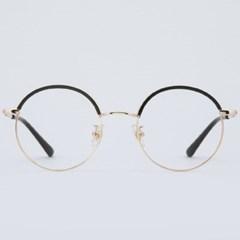 RUFUS gold-black 안경테 PC 다초점 농구_(1969898)