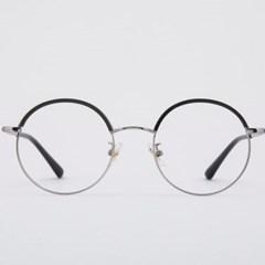 RUFUS silver-black 안경테 색 중학생 렌즈_(1969896)