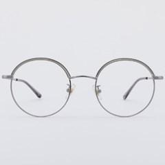 RUFUS greycrystal 안경테 넓은 동그리 고글_(1969895)