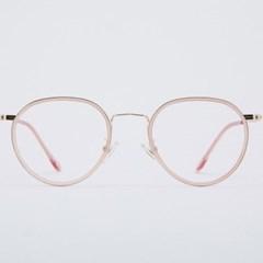 SIMON pinkcrystal 안경테 중년 동그리 컬러_(1969892)