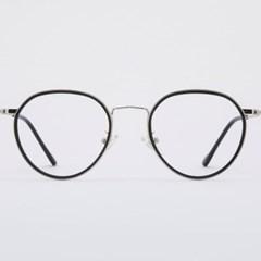 SIMON silver-black 안경테 보관함 클래식_(1969890)