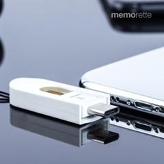 [메모렛] MI-OR006 C타입 OTG USB메모리 128G