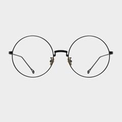 MAX black 안경테 프랜차이즈 둥근 해리포터 일제_(1969621)