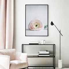 플로어 모란 꽃 액자 보테니컬 그림 인테리어 포스터