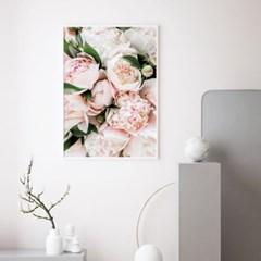 부케 모란 꽃 액자 보테니컬 그림 인테리어 포스터
