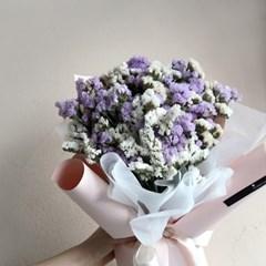 [드라이플라워] 드라이플라워 꽃다발 스타티스 꽃다발