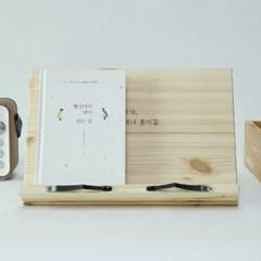 [에이스독서대] 친환경 나무 표준형 감성문구 굿데이 독서대