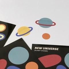 [new universe] 행성스티커