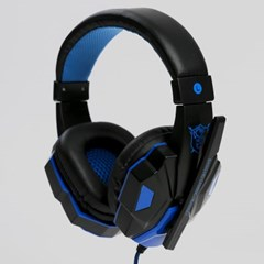 제로존 게이밍 헤드셋(블루)/pc음성채팅 마이크헤드셋