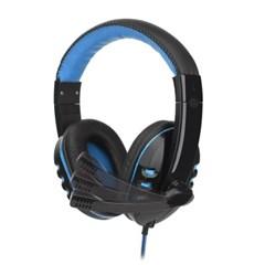 클리프 게이밍 헤드셋(블루)/pc 게임용 마이크헤드셋