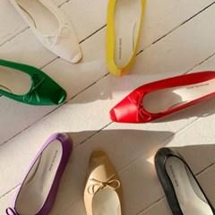 kami et muse Girlish style vivid ribbon flat_KM19w349