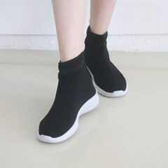 kami et muse 4cm tall up scoks fit sneakers_KM19w350