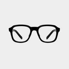 DYLAN black 안경테 베타 티타늄 긴얼굴 유행하는_(1974283)