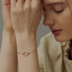 [매디]플로우 Oval Chain Bracelet