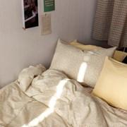 튈르리무드 옐로우플라워 자체제작 3size 호텔침구 사계절이불세트