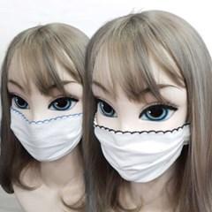 중형 일회용 다회용 대량구매 끈 일반 면 마스크