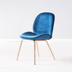 [데코마인] 킨다 벨벳체어 인테리어 식탁의자 카페의자
