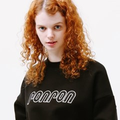 SIGNATURE LOGO SWEATSHIRT BLACK