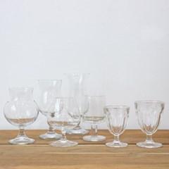 홈카페 고블렛잔 와인잔 유리컵 6타입
