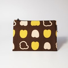 autumn-brown Pouch