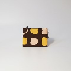 autumn-brown card wallet