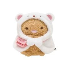 스미코구라시 미니 봉제인형 옷 (흰곰 망토) MR71806_(1744517)