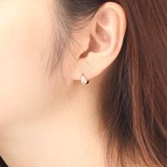 물방울 14K 원터치 귀걸이 GI14EE145_(950477)
