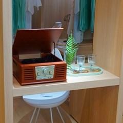 휴라이즈 클레식 올인원 오디오시스템 HR-TS100
