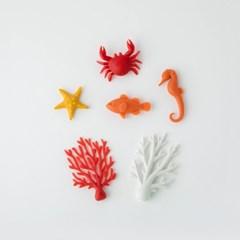 [퀄리] Ocean Ecology Magnets 바다 이야기 마그넷